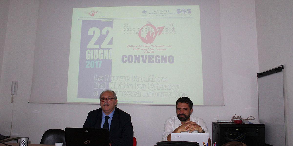 Convegno: Le nuove frontiere del diritto tra privacy e sicurezza informatica